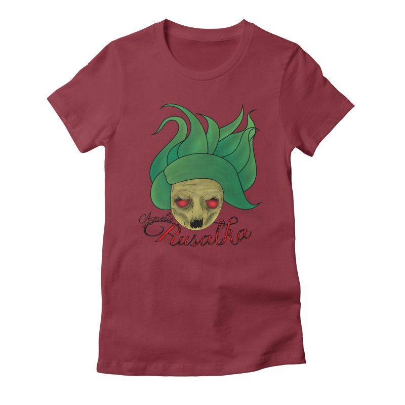Amelie Rusalka Women's Fitted T-Shirt by TerrificPain's Artist Shop