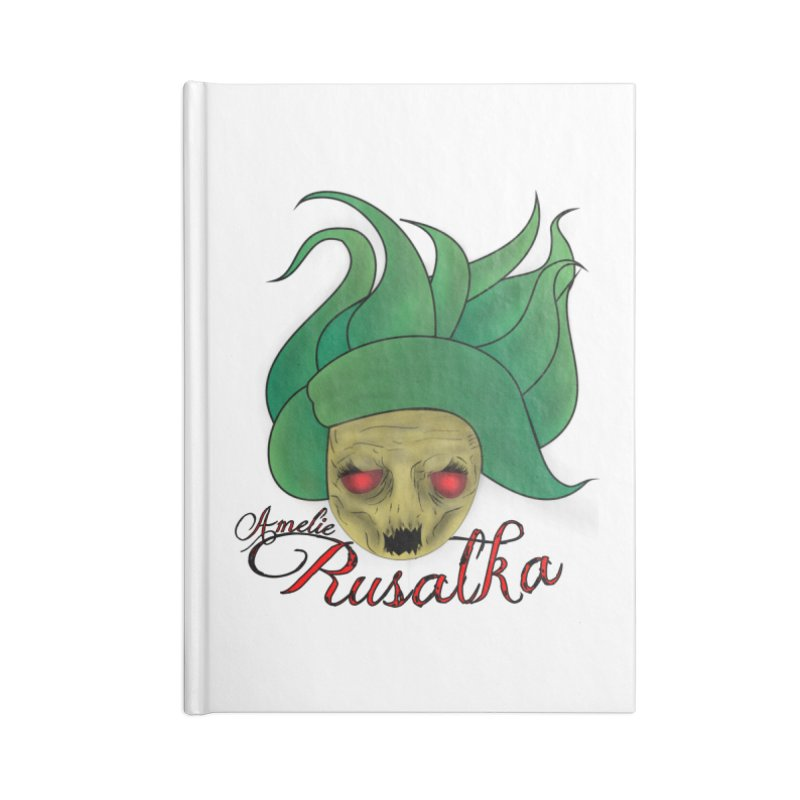 Amelie Rusalka Accessories Blank Journal Notebook by TerrificPain's Artist Shop by SaulTP