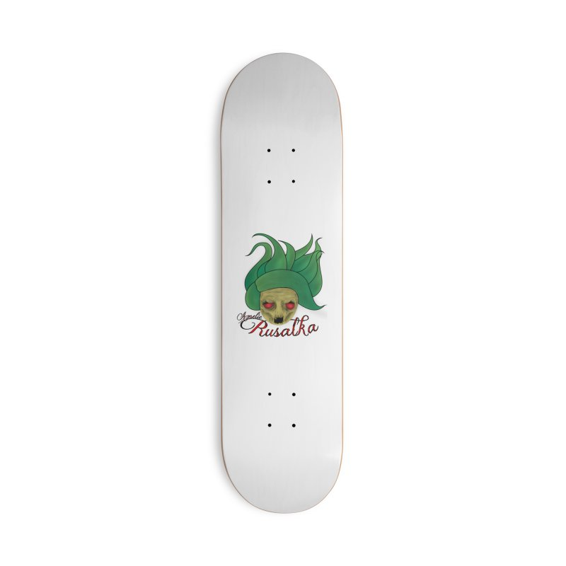 Amelie Rusalka Accessories Deck Only Skateboard by TerrificPain's Artist Shop by SaulTP