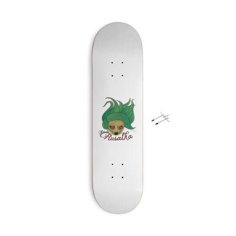 Amelie Rusalka Accessories Skateboard by TerrificPain's Artist Shop by SaulTP