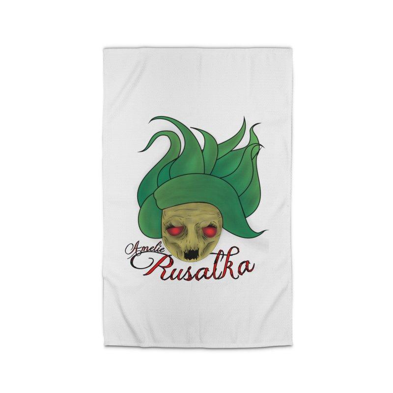 Amelie Rusalka Home Rug by TerrificPain's Artist Shop by SaulTP