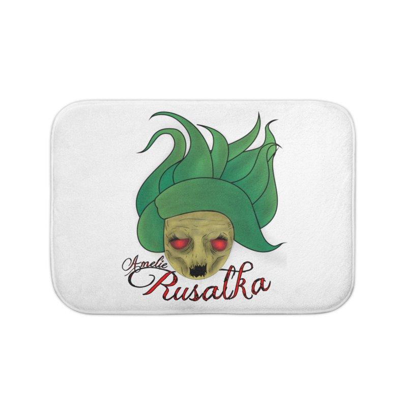 Amelie Rusalka Home Bath Mat by TerrificPain's Artist Shop by SaulTP