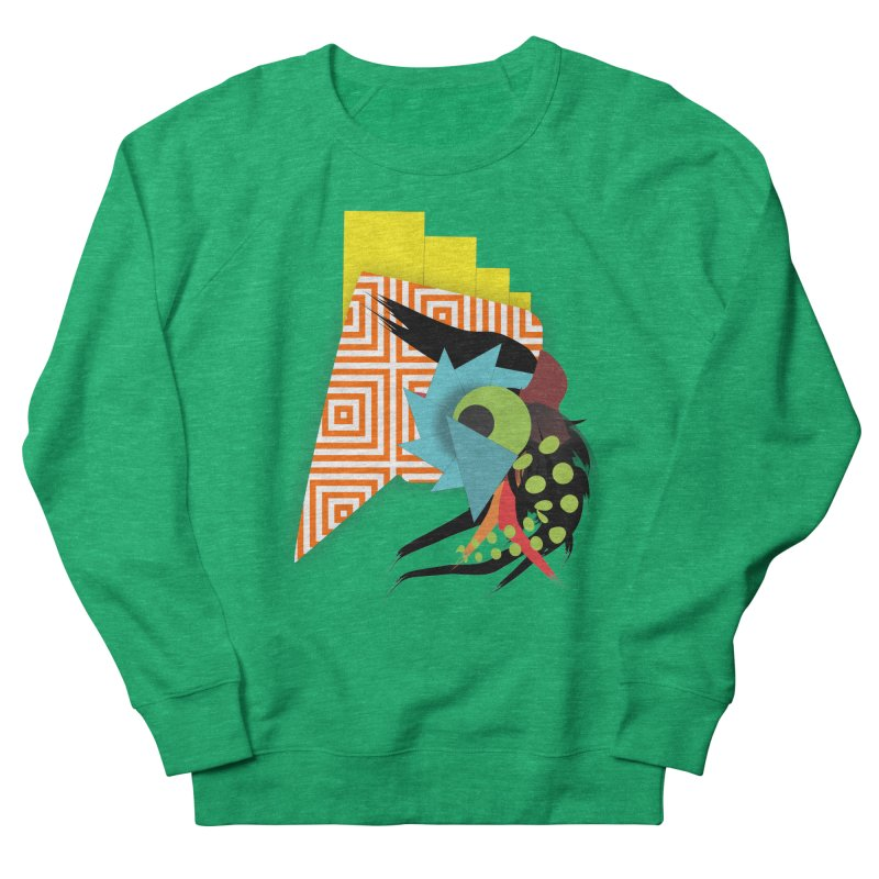 Monster Women's French Terry Sweatshirt by TerrificPain's Artist Shop