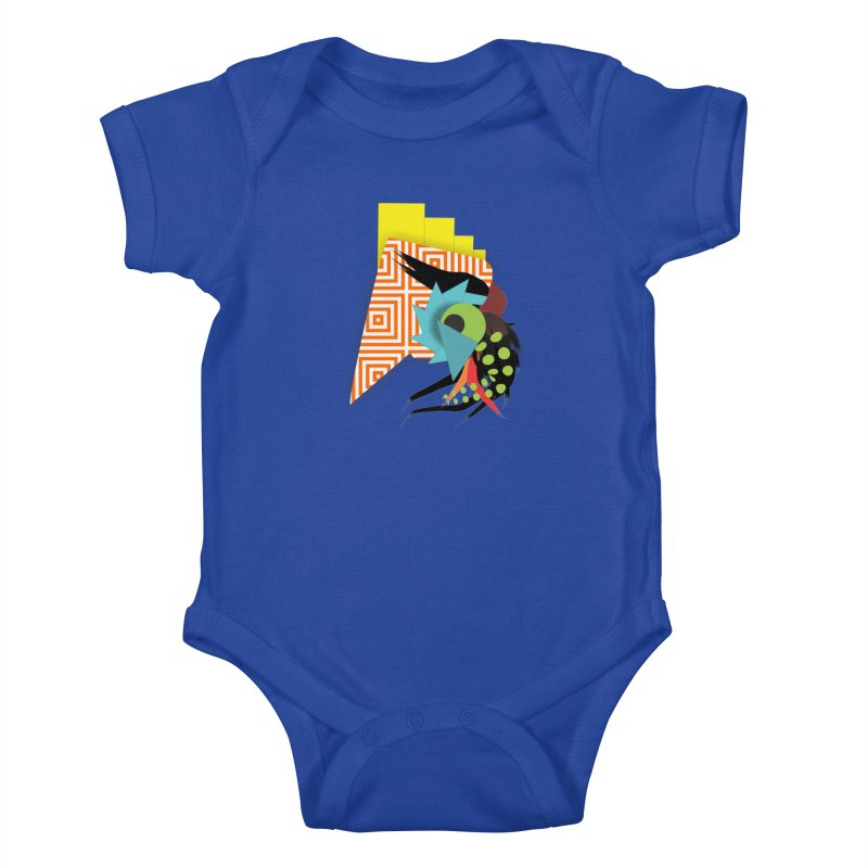 Monster Kids Baby Bodysuit by TerrificPain's Artist Shop by SaulTP
