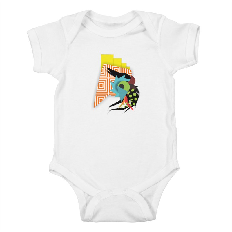 Monster Kids Baby Bodysuit by TerrificPain's Artist Shop by SaulTP