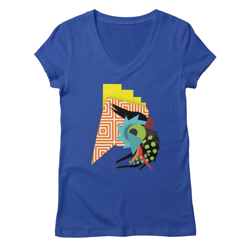 Monster Women's V-Neck by TerrificPain's Artist Shop