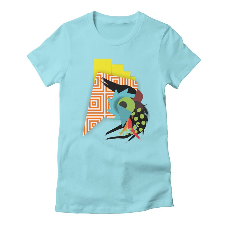 Monster Women's Fitted T-Shirt by TerrificPain's Artist Shop by SaulTP