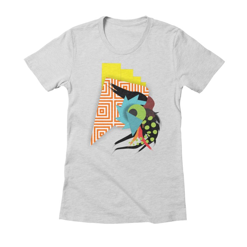 Monster Women's Fitted T-Shirt by TerrificPain's Artist Shop