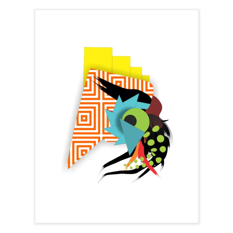 Monster Home Fine Art Print by TerrificPain's Artist Shop
