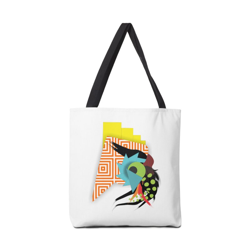 Monster Accessories Tote Bag Bag by TerrificPain's Artist Shop by SaulTP