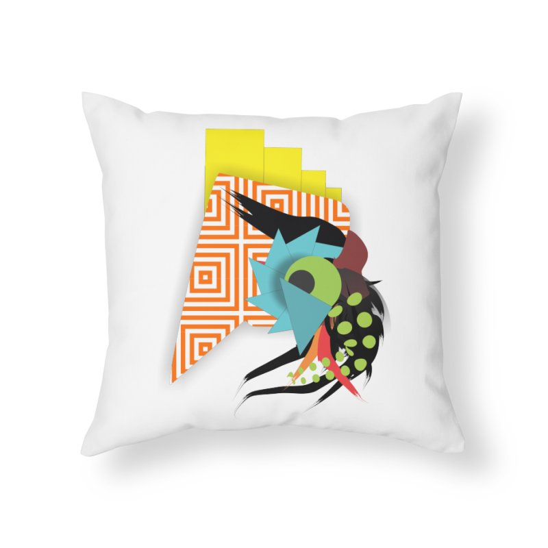 Monster Home Throw Pillow by TerrificPain's Artist Shop by SaulTP