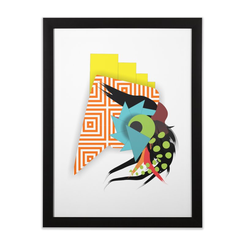 Monster Home Framed Fine Art Print by TerrificPain's Artist Shop by SaulTP