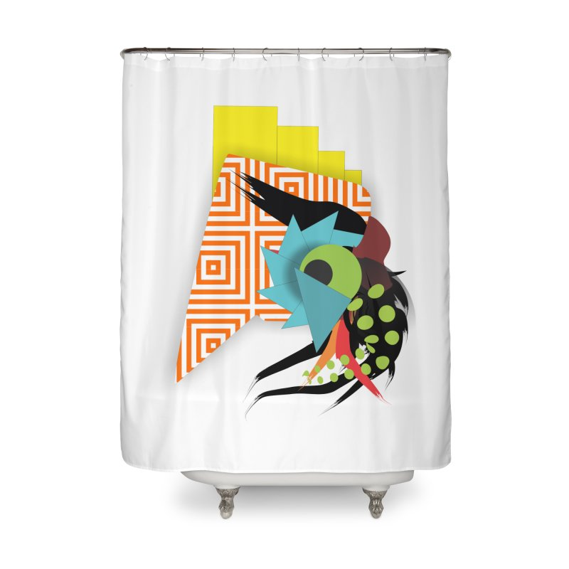 Monster Home Shower Curtain by TerrificPain's Artist Shop by SaulTP