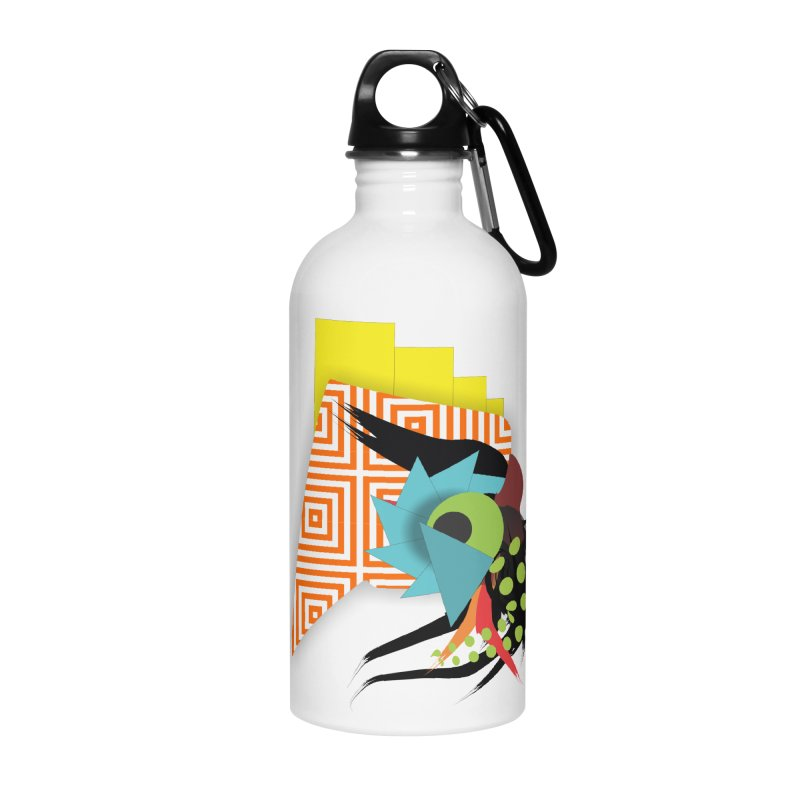 Monster Accessories Water Bottle by TerrificPain's Artist Shop by SaulTP