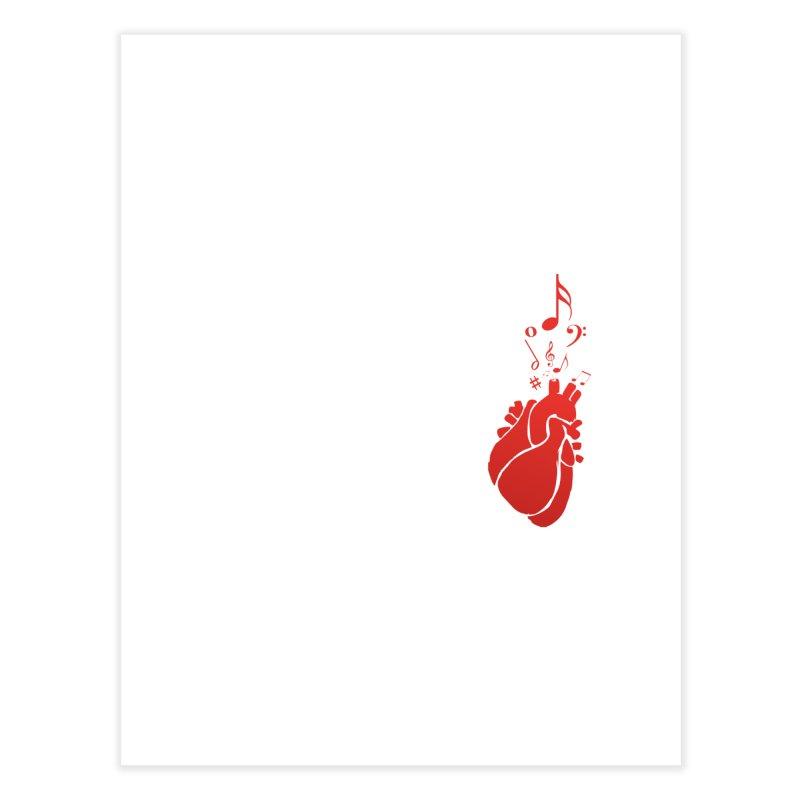 Heart Beat Home Fine Art Print by TerrificPain's Artist Shop by SaulTP