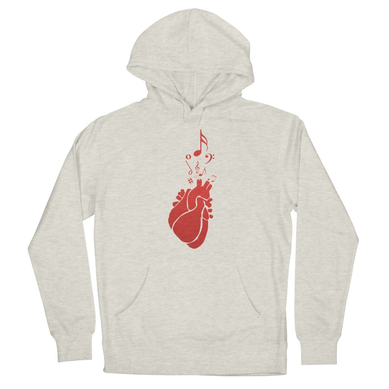 Heart Beat Women's Pullover Hoody by TerrificPain's Artist Shop by SaulTP