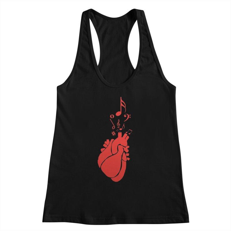 Heart Beat Women's Tank by TerrificPain's Artist Shop by SaulTP