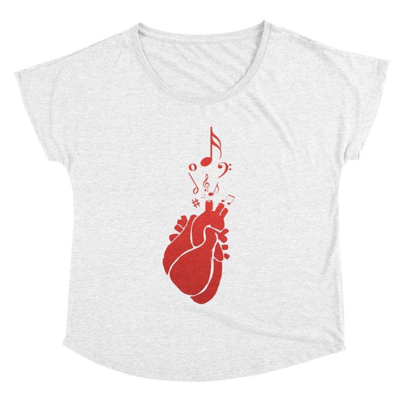 Heart Beat Women's Dolman by TerrificPain's Artist Shop