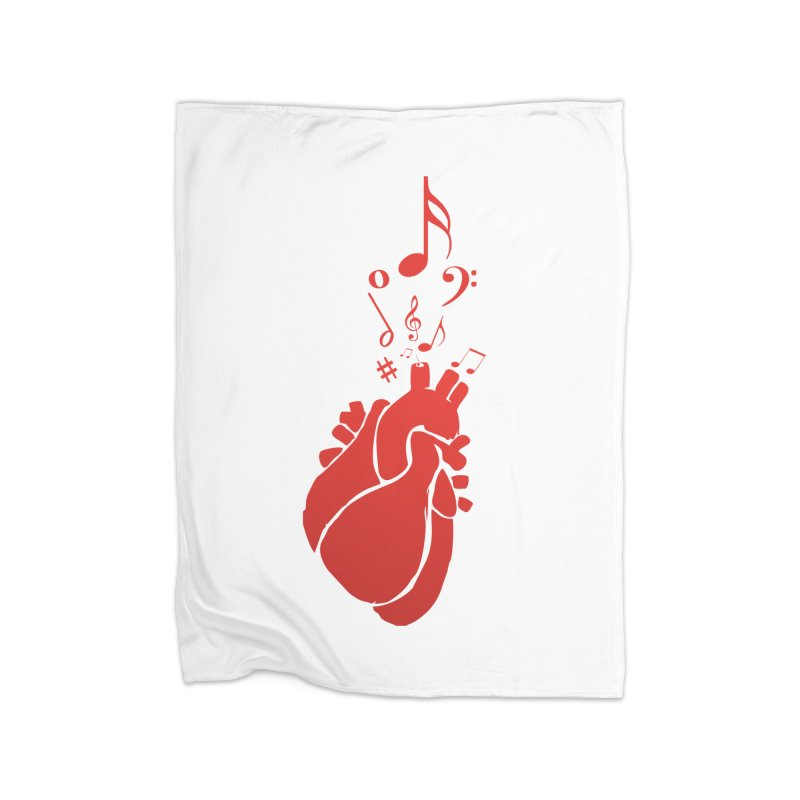 Heart Beat Home Blanket by TerrificPain's Artist Shop by SaulTP