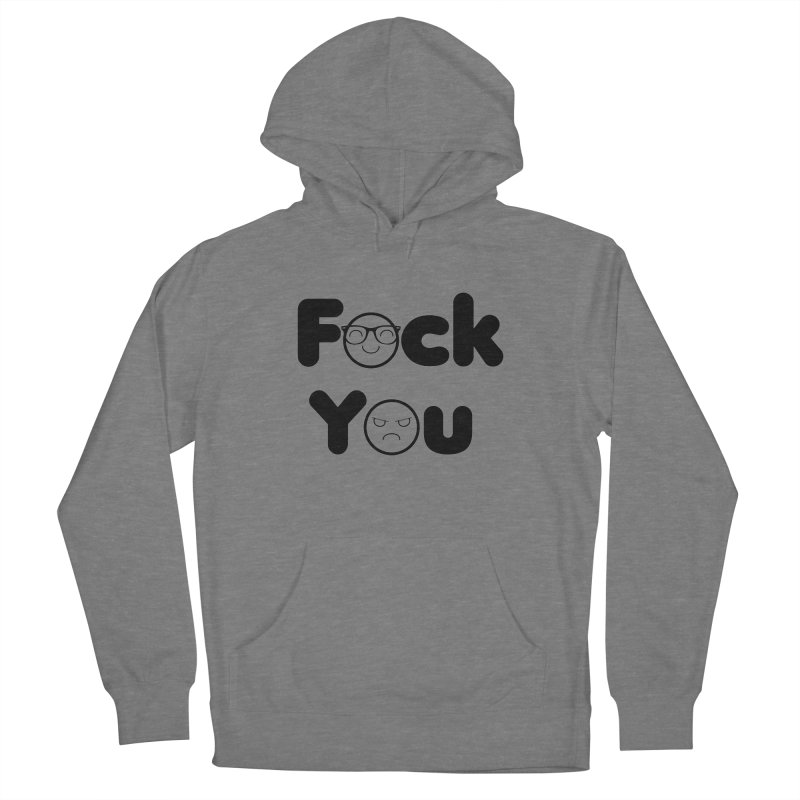 F what? Men's French Terry Pullover Hoody by TerrificPain's Artist Shop by SaulTP
