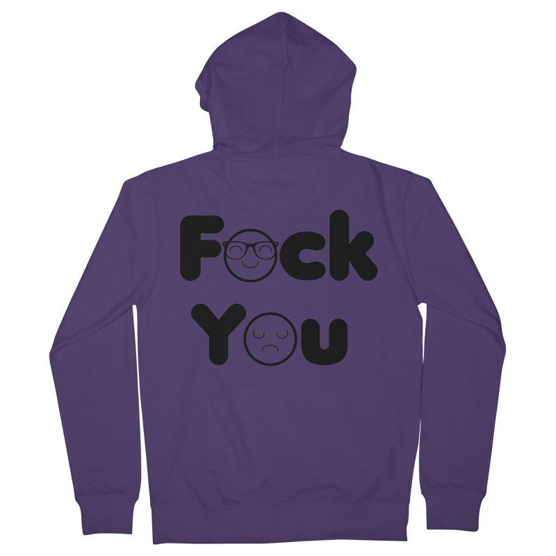 F what? Women's Zip-Up Hoody by TerrificPain's Artist Shop