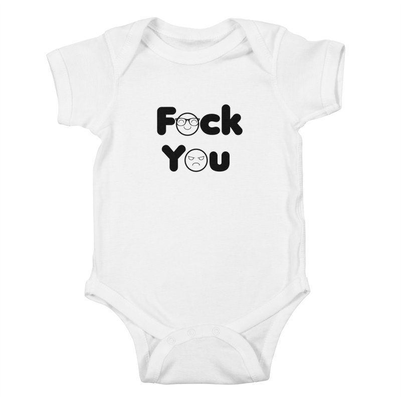 F what? Kids Baby Bodysuit by TerrificPain's Artist Shop by SaulTP