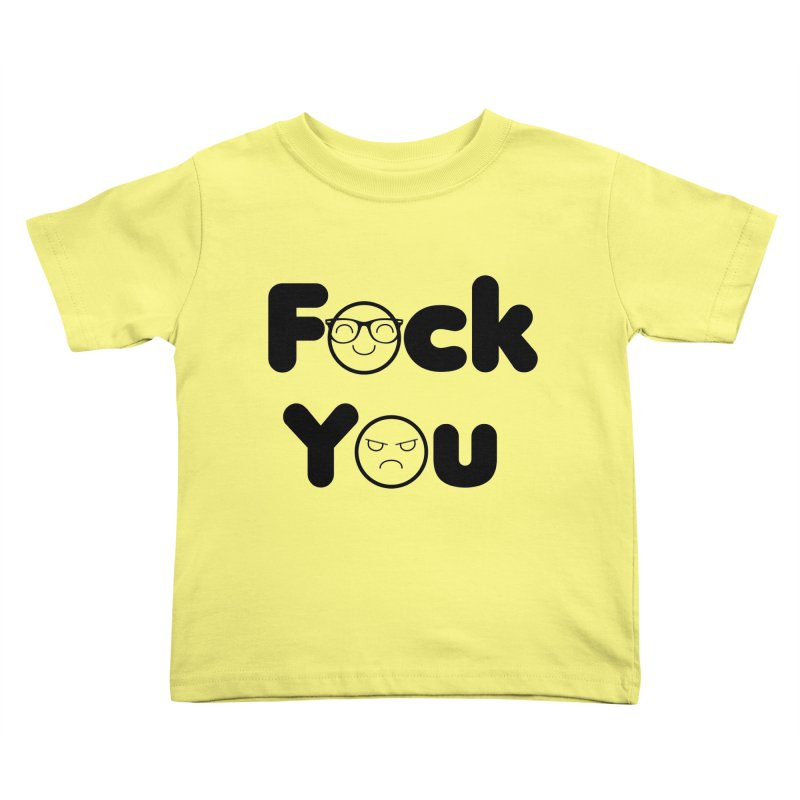 F what? Kids Toddler T-Shirt by TerrificPain's Artist Shop