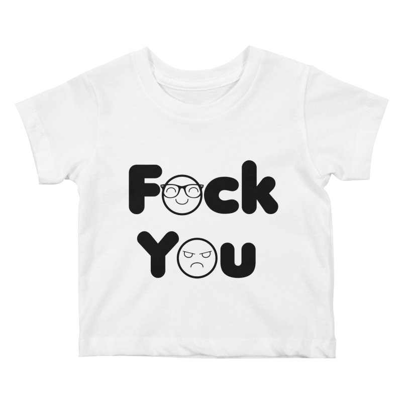 F what? Kids Baby T-Shirt by TerrificPain's Artist Shop by SaulTP