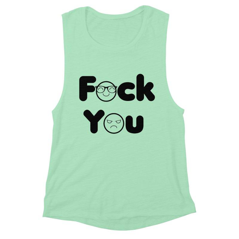 F what? Women's Muscle Tank by TerrificPain's Artist Shop by SaulTP