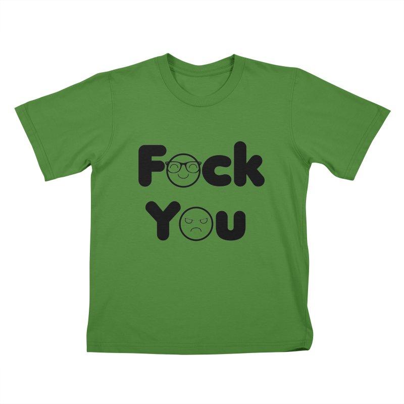 F what? Kids T-Shirt by TerrificPain's Artist Shop