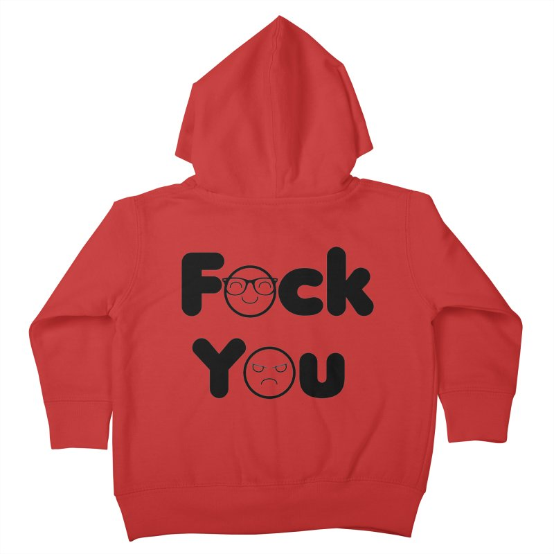 F what? Kids Toddler Zip-Up Hoody by TerrificPain's Artist Shop