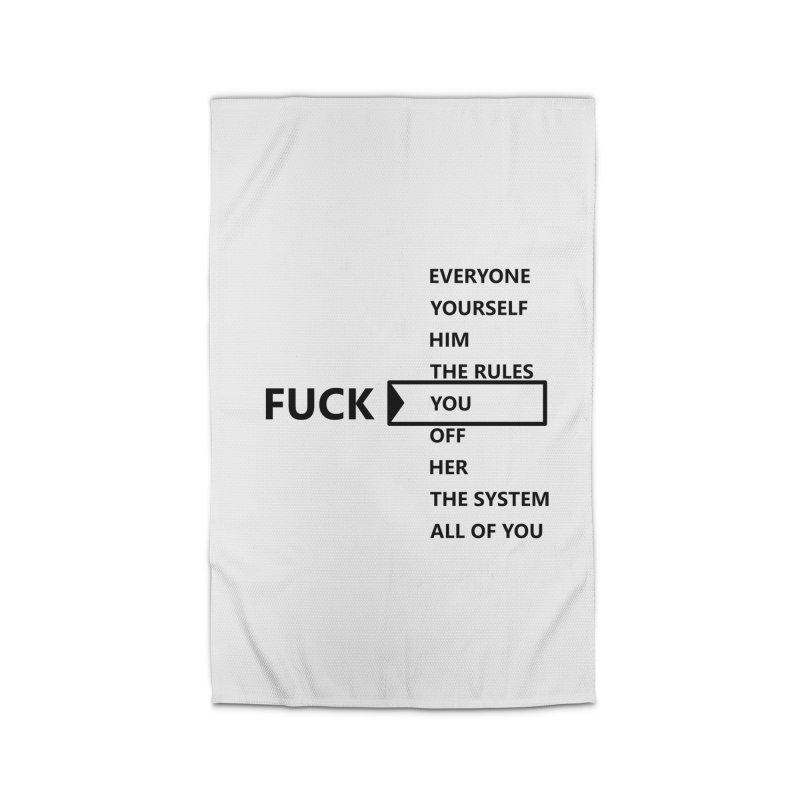 U Choose Home Rug by TerrificPain's Artist Shop by SaulTP