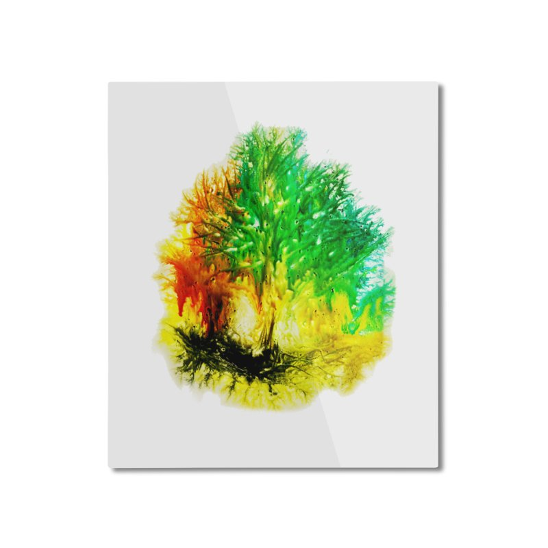 Fire burns Home Mounted Aluminum Print by TerrificPain's Artist Shop by SaulTP