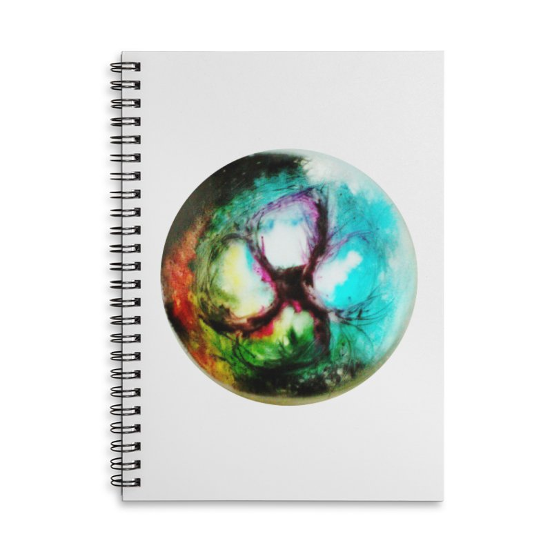 Portal inferno Accessories Lined Spiral Notebook by TerrificPain's Artist Shop by SaulTP