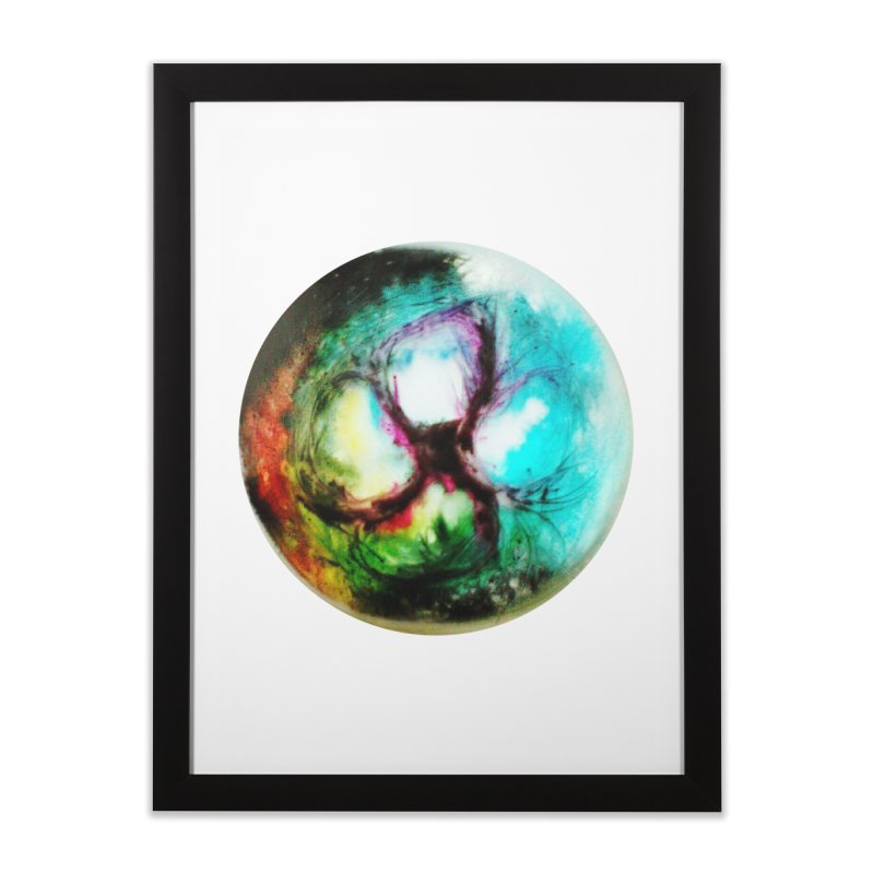 Portal inferno Home Framed Fine Art Print by TerrificPain's Artist Shop by SaulTP