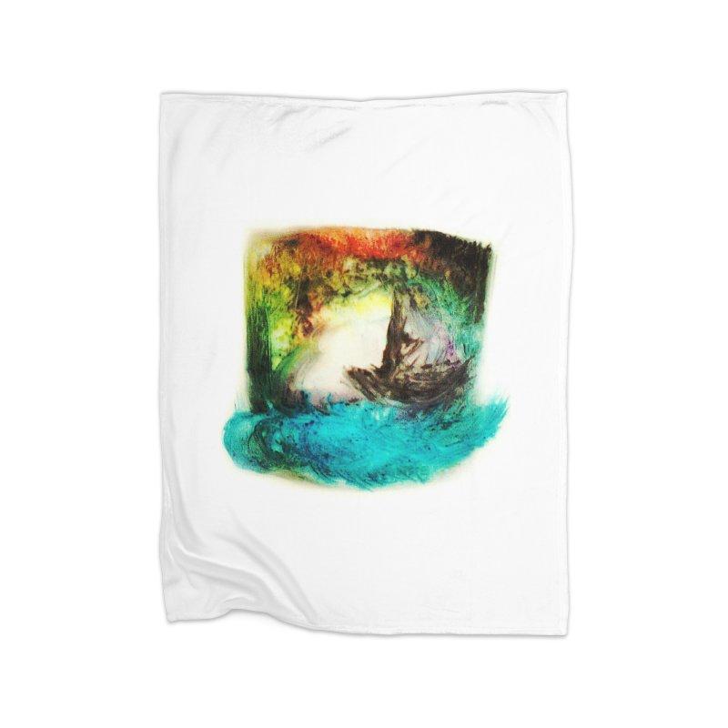 Lost ship Home Fleece Blanket Blanket by TerrificPain's Artist Shop by SaulTP