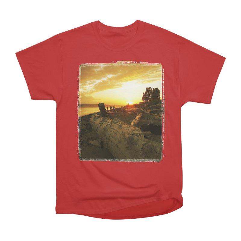 Discovery Sunset Seattle Men's Classic T-Shirt by terryann's Artist Shop