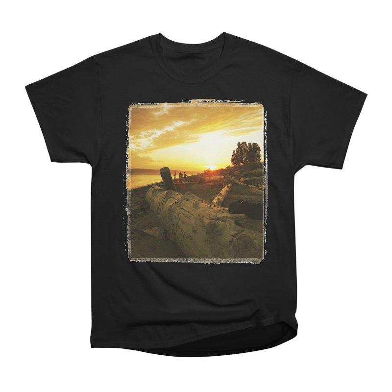 Discovery Sunset Seattle Women's Classic Unisex T-Shirt by terryann's Artist Shop