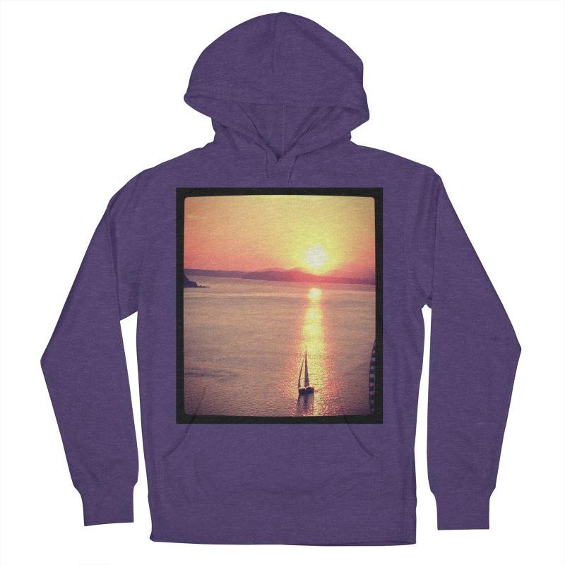 Seattle Sails in the Sunset. Men's Pullover Hoody by terryann's Artist Shop