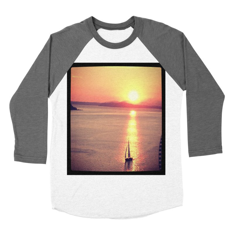 Seattle Sails in the Sunset.   by terryann's Artist Shop
