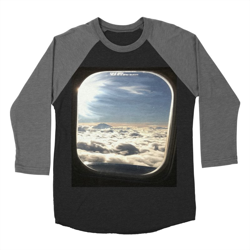 Looked out the window and what did I see? Women's Baseball Triblend T-Shirt by terryann's Artist Shop