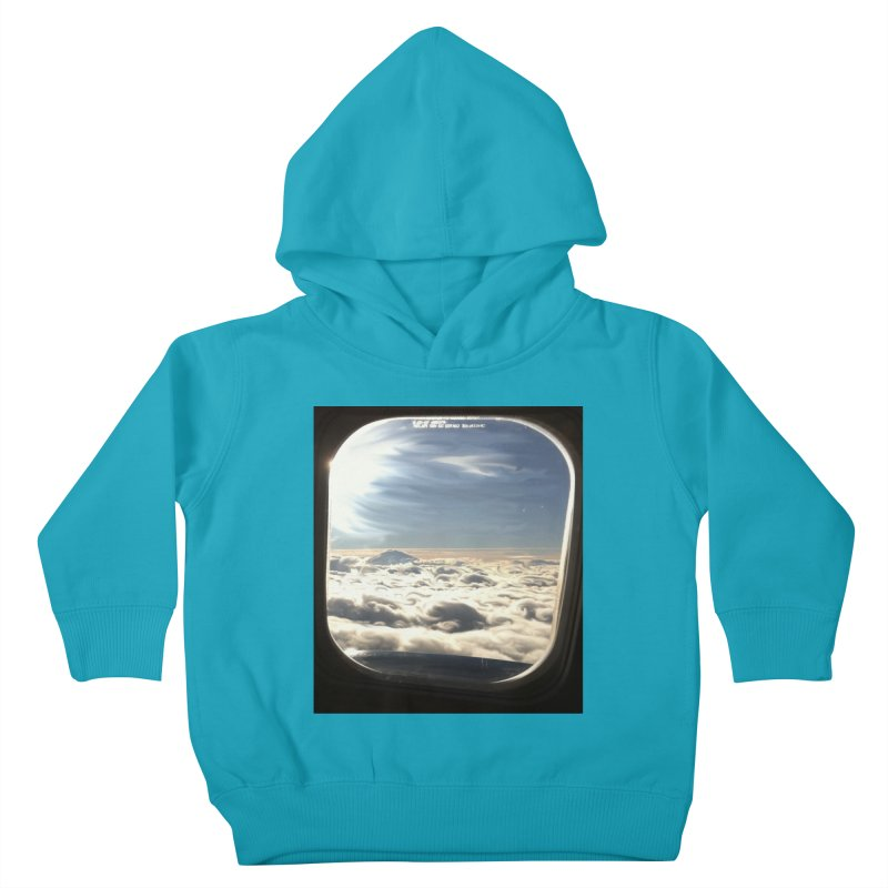 Looked out the window and what did I see? Kids Toddler Pullover Hoody by terryann's Artist Shop