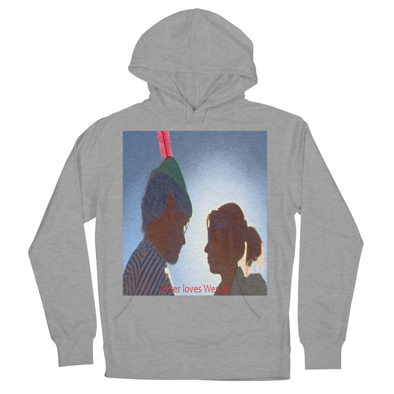 Peter Loves Wendy! <3 Women's Pullover Hoody by terryann's Artist Shop