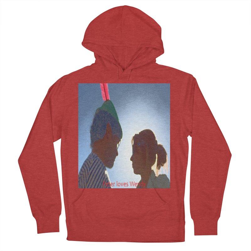 Peter Loves Wendy! <3 Women's Pullover Hoody by terryann's Artist Shop