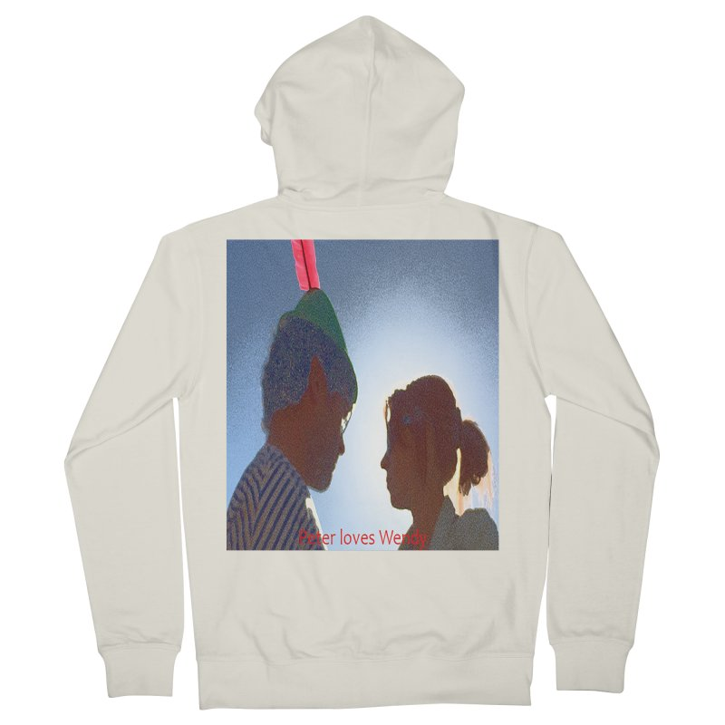 Peter Loves Wendy! <3 Men's Zip-Up Hoody by terryann's Artist Shop