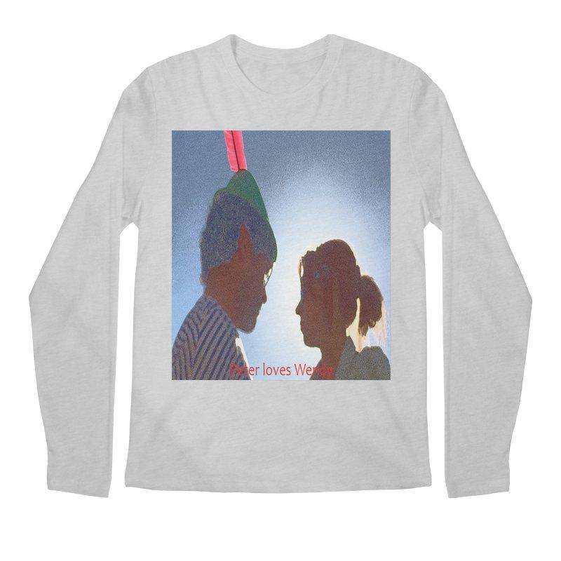 Peter Loves Wendy! <3 Men's Longsleeve T-Shirt by terryann's Artist Shop