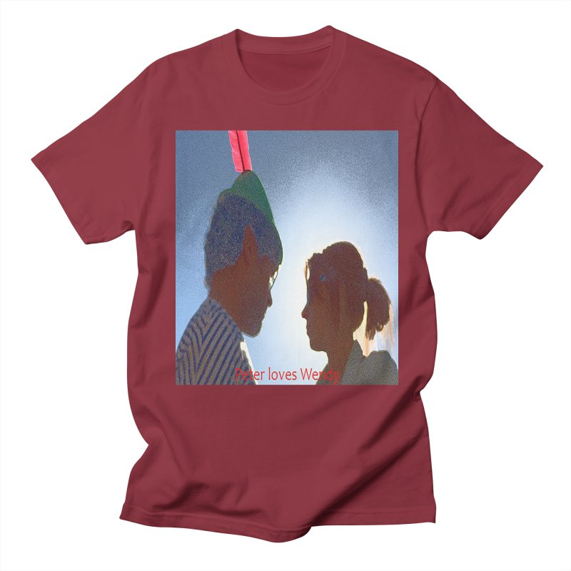 Peter Loves Wendy! <3 Women's Unisex T-Shirt by terryann's Artist Shop