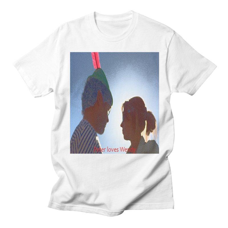 Peter Loves Wendy! <3 Women's Unisex T-Shirt by terryann's Artist Shop