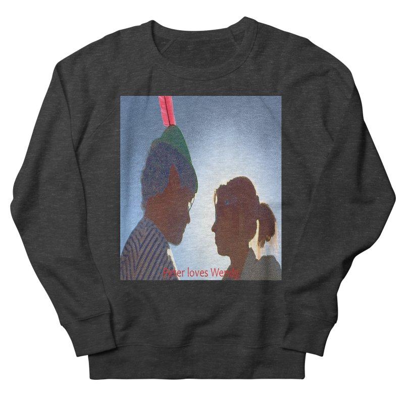 Peter Loves Wendy! <3 Men's Sweatshirt by terryann's Artist Shop