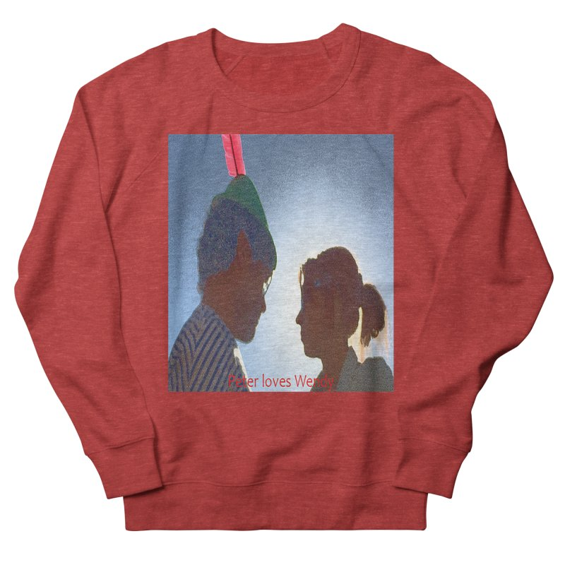 Peter Loves Wendy! <3 Men's Sweatshirt by terryann's Artist Shop